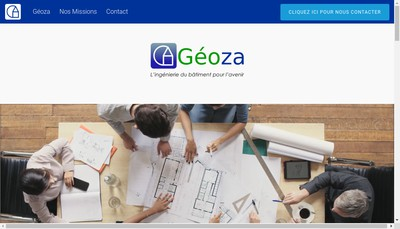 Site internet de Geoza