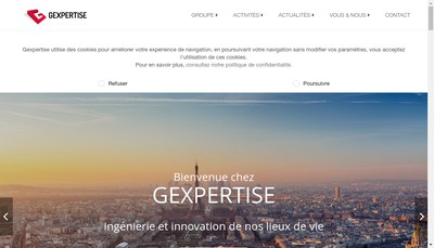 Site internet de Gexpertise