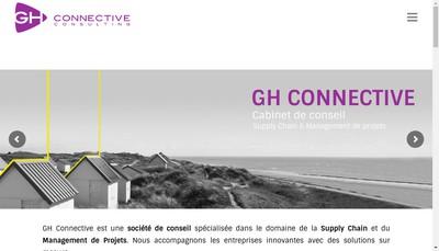 Site internet de Gh Connective