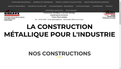 Site internet de Gibeaux