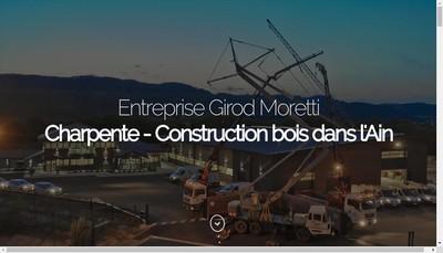 Site internet de Girod Moretti