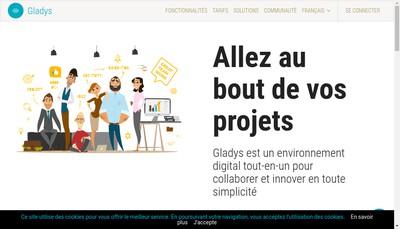 Site internet de Gladys