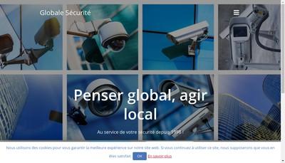 Site internet de Globale Securite