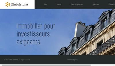 Site internet de Globalstone