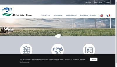 Site internet de Tqn Wind