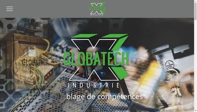 Site internet de Globatech Industrie