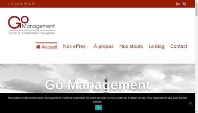Site internet de Go Management