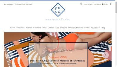 Site internet de Good