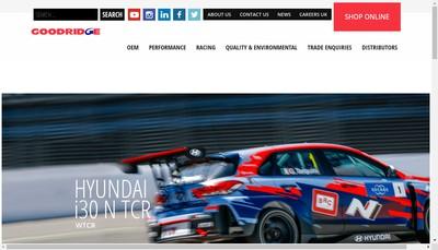 Site internet de Goodridge France SARL