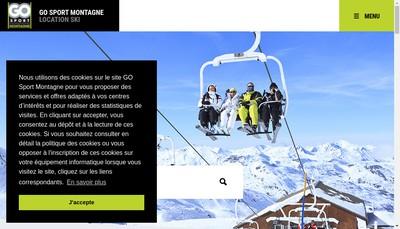 Site internet de Cdn Skishop