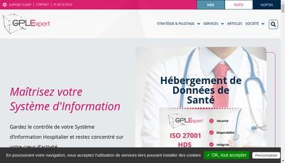Site internet de Gplexpert
