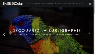 Site internet de Graffiti System