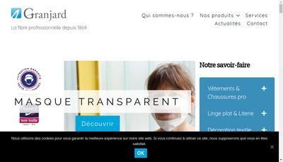 Site internet de Granjard Collectivites - Centex