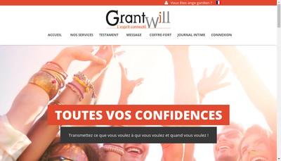 Site internet de Grantwill