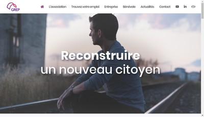 Site internet de Grep Interim