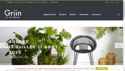 Site internet de Griin