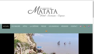 Site internet de Les Grottes de Matata