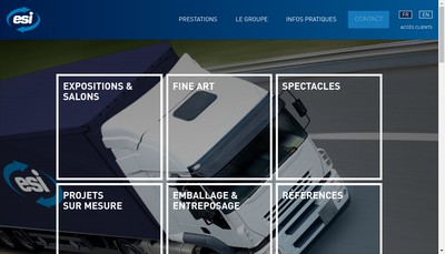 Site internet de Expo Services International