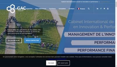 Site internet de GAC GROUP
