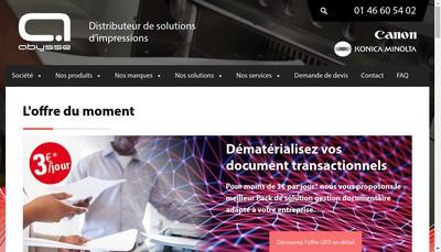 Site internet de Abysse