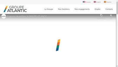 Site internet de Groupe Atlantique