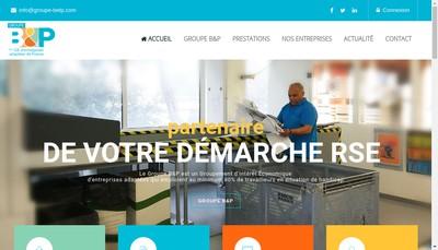Site internet de Groupement d'Interet Economique Groupe B&P