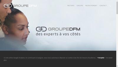 Site internet de Dfm Office