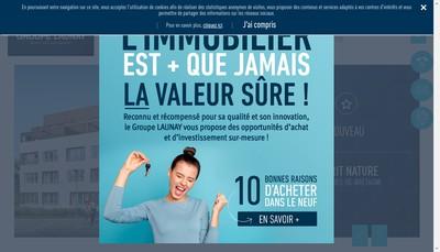 Site internet de SARL Launay