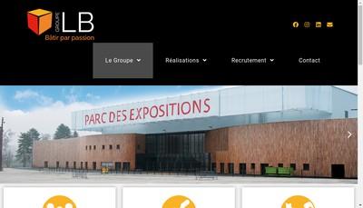 Site internet de Tisin Lb Lepionnier Palazzini Filippucci