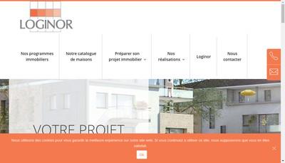 Site internet de Logiflandres