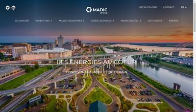 Site internet de Madic