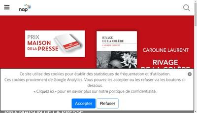 Site internet de Nap Retail