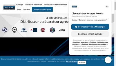 Site internet de Oxygene Automobile