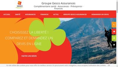 Site internet de Gesco
