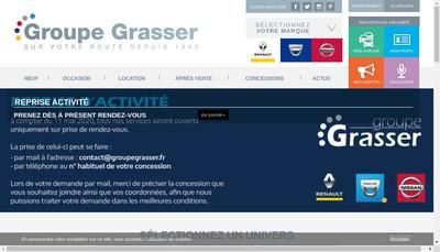 Site internet de Garage Louis Grasser