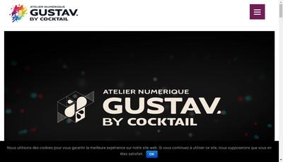Site internet de Gustav By Cocktail