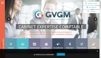 Site internet de SCP Gvgm