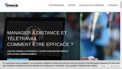 Site internet de Excamino