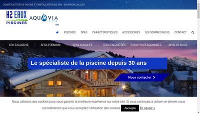 Site internet de H2Eaux