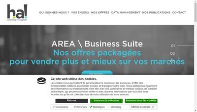 Site internet de Histoire d'Adresses