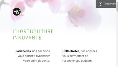Site internet de Haas le Vegetal