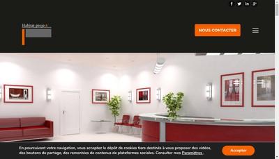 Site internet de Habitat Project Decoration