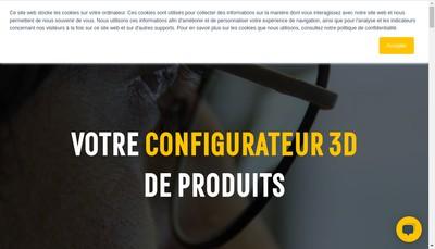 Site internet de Hapticmedia