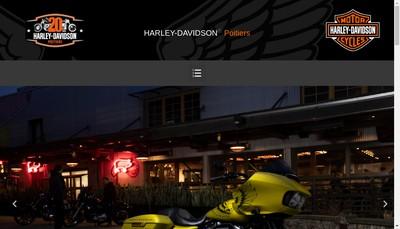 Site internet de Harley Davidson