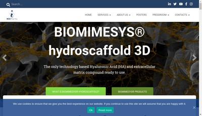 Site internet de Hcs Pharma