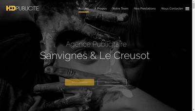Site internet de Hd Publicite