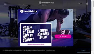 Site internet de Health City