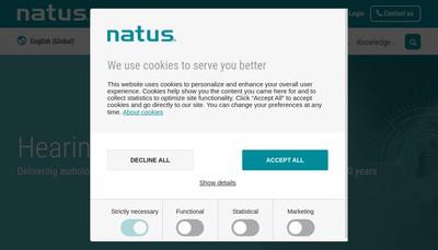 Site internet de Natus Medical SAS