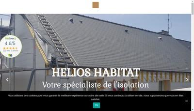 Site internet de Helios Habitat