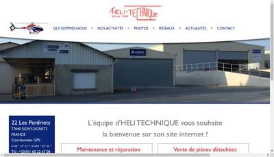 Site internet de Heli Technique